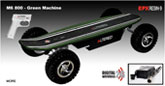 elektro skateboard: Alterd 800 Green Machine